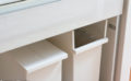 ケユカの観音開きゴミ箱ならペダル式でも食器棚収納できました!