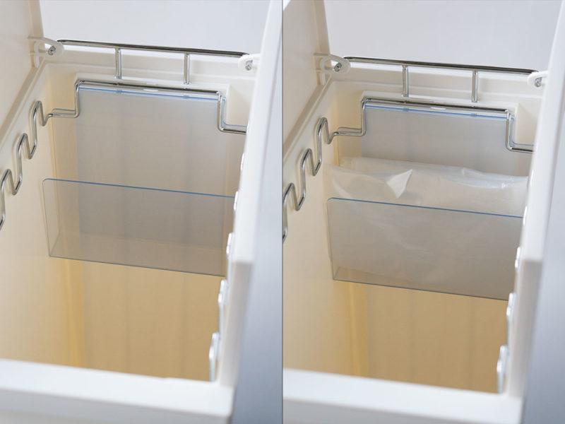 KEYUCA(ケユカ) arrots_ゴミ袋収納スペース