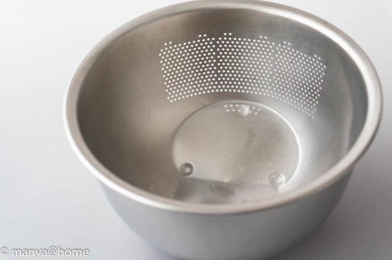 藤井器物製作所 MARUEFU 3WAY 水切りボウル