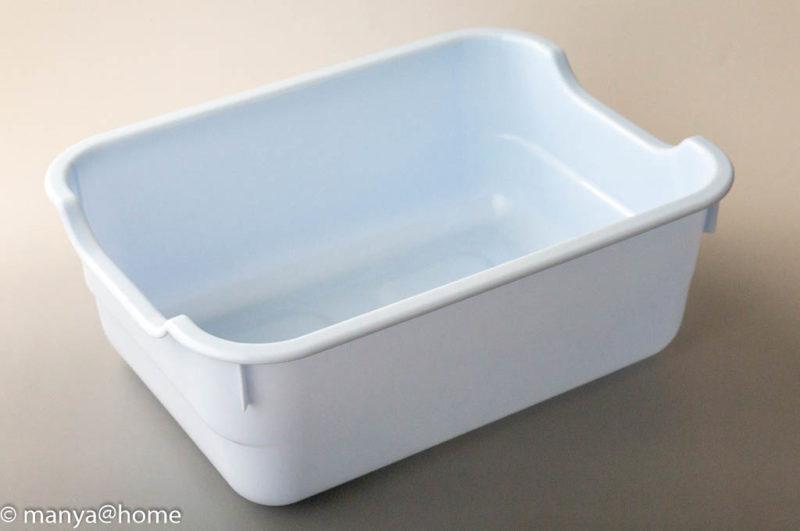 DAISO(ダイソー) 水切りかごトレー 10L(大・ライトブルー)