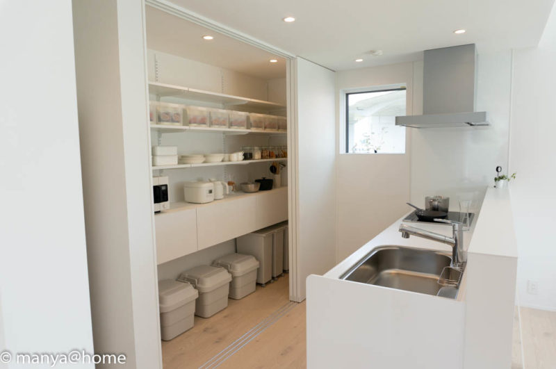 無印良品の家 つくば店「窓の家」モデルハウス キッチン