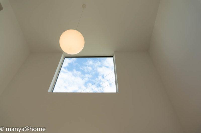 無印良品の家 つくば店「窓の家」モデルハウス 吹き抜け窓