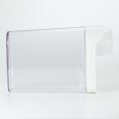 無印良品 冷蔵庫用米保存容器 約2kg用(新型)横置き