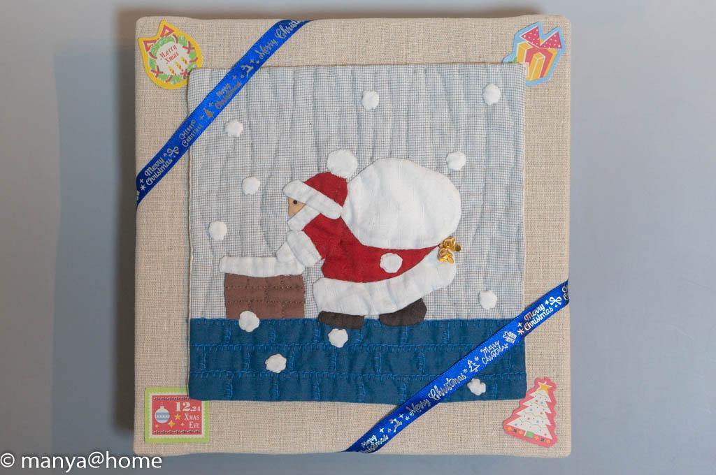 セリア(Seria) ファブリックボードで簡単クリスマスボード