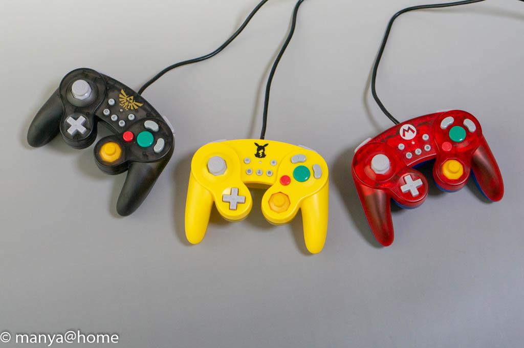 ホリ クラシックコントローラー for Nintendo Switch 3色