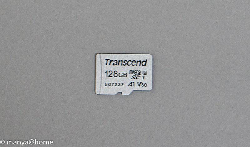 【Amazon.co.jp限定】Transcend microSD カード 128GB UHS-I U3対応 Class10 Nintendo Switch 動作確認済 TS128GUSD300S-AE