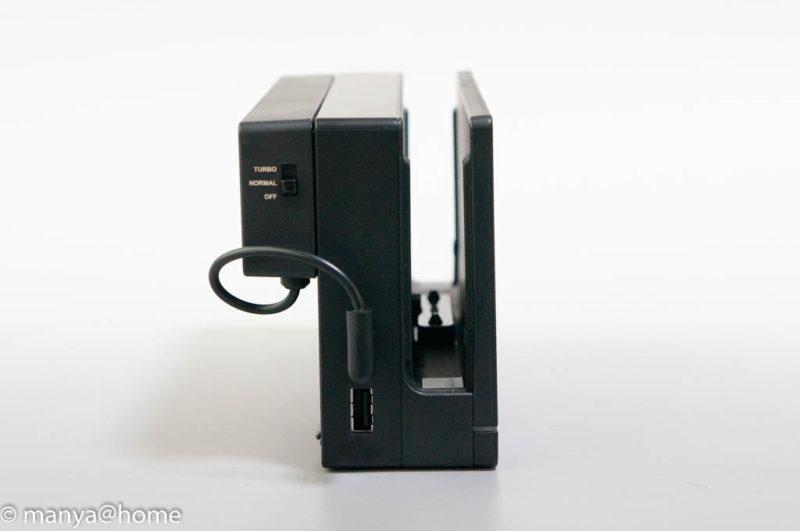 【E-game】Nintendo Switch専用 ハイパワー冷却ファン / スイッチドック 熱対策 放熱 クーラー 静音モデル switch接続 USB1ポート専有
