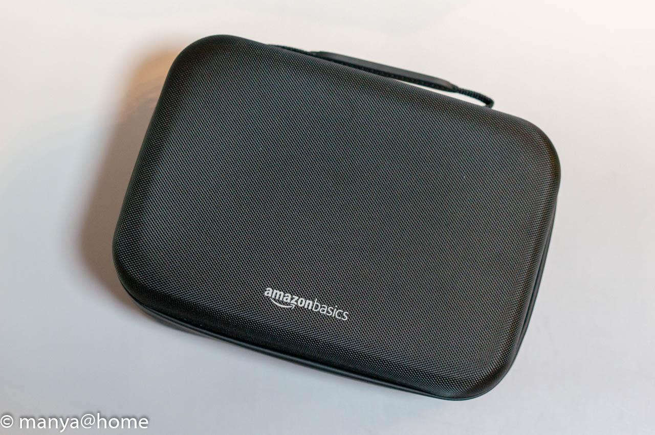 Amazonベーシック Nintendo Switch用携帯&収納ケース ブラック