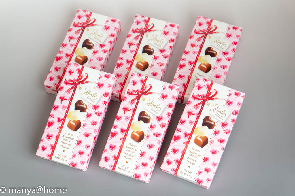 ハムレット ラブハーツチョコレート 6箱
