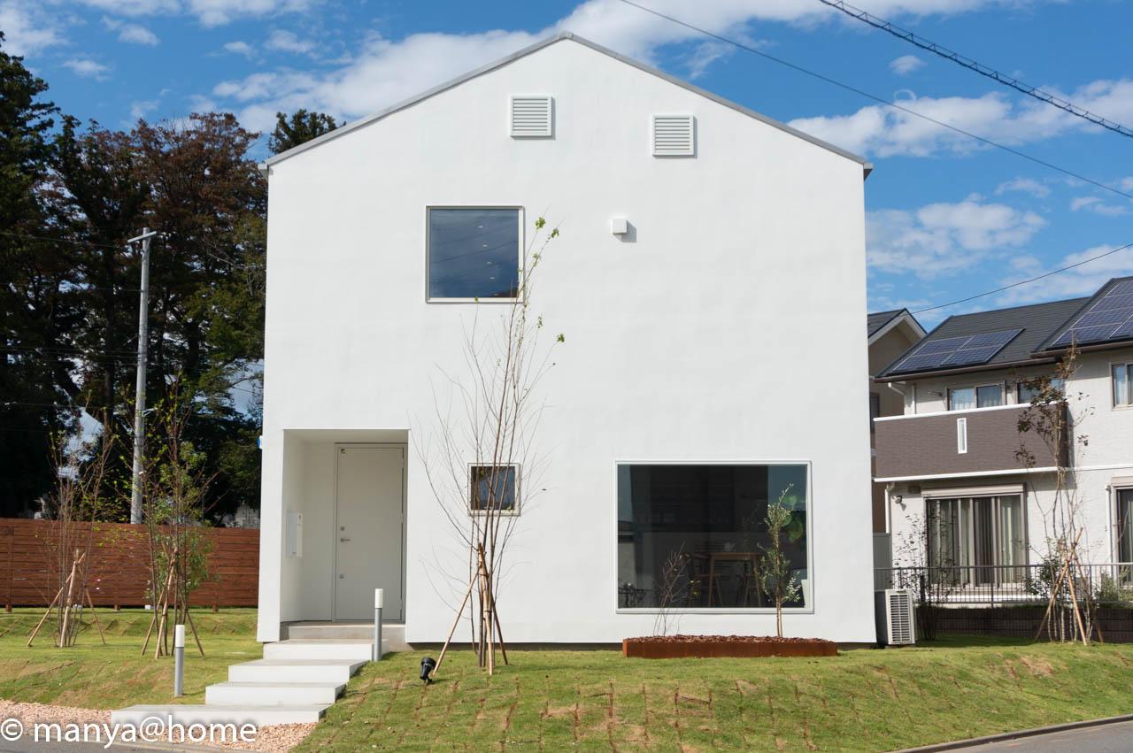 無印良品の家 つくば店「窓の家」モデルハウス 正面