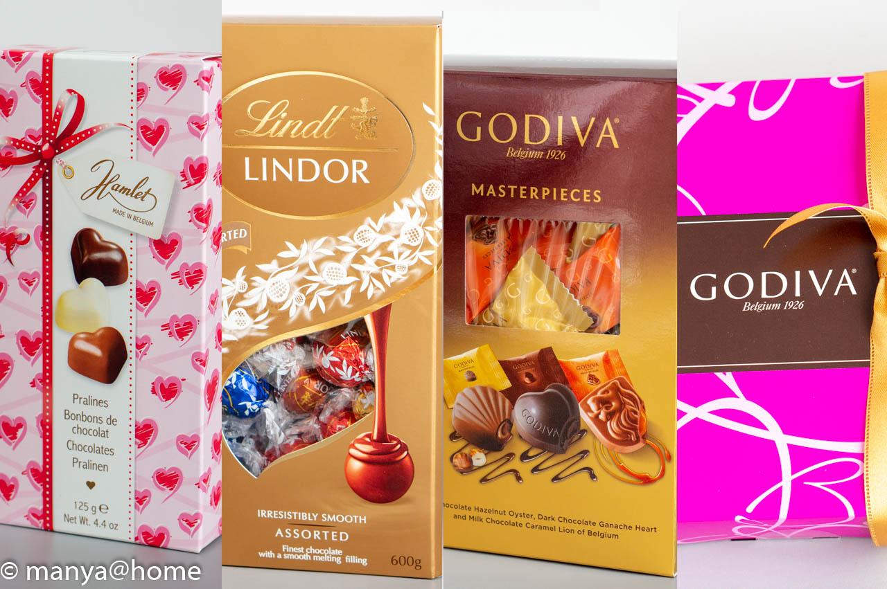 コストコ チョコレート食べ比べ4選