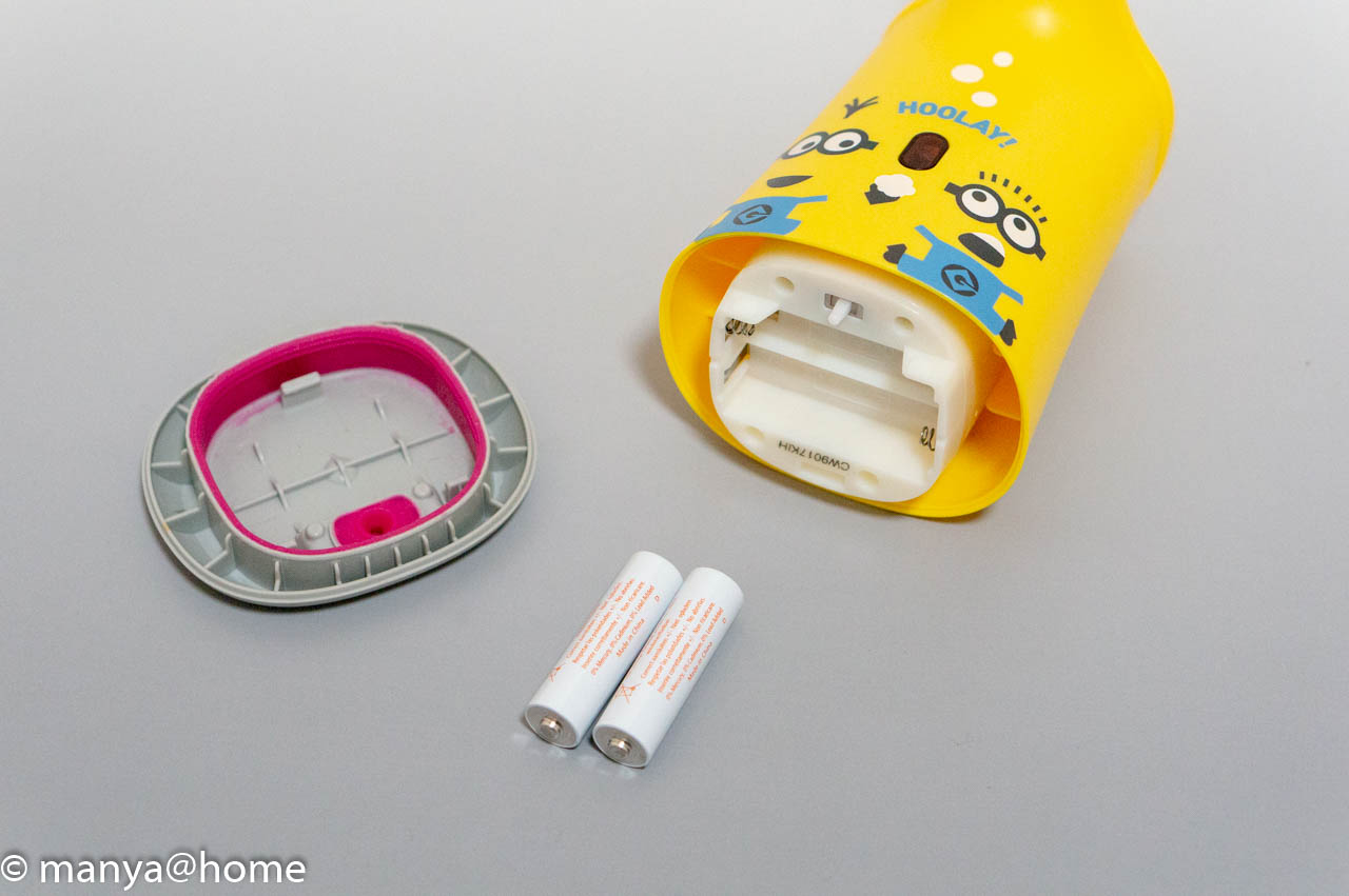 ミニオンズ 薬用せっけんミューズ ノータッチ 泡ハンドソープ 電池