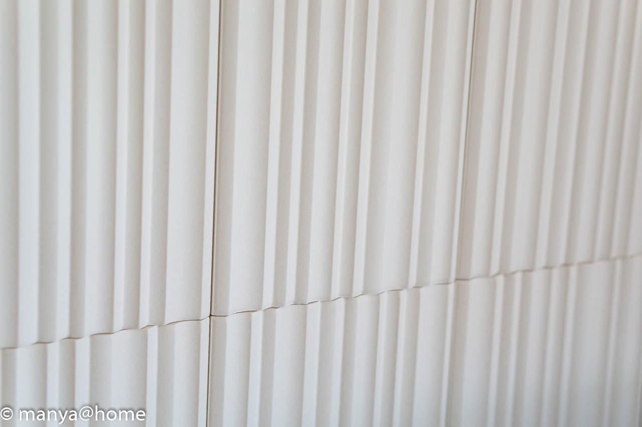 リビング壁面のエコカラット