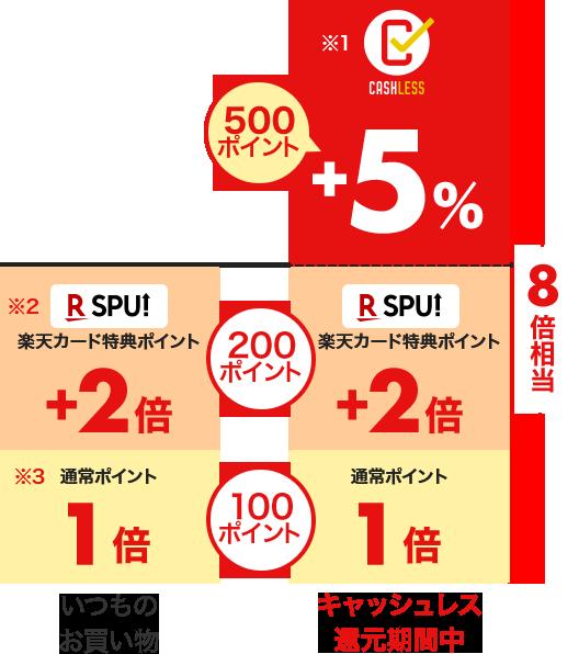 公式サイト ポイント内訳