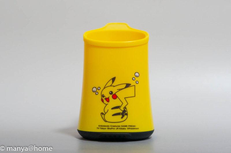 ミューズノータッチ 泡ハンドソープ ポケモンデザイン(ピカチュウデザイン) 背面