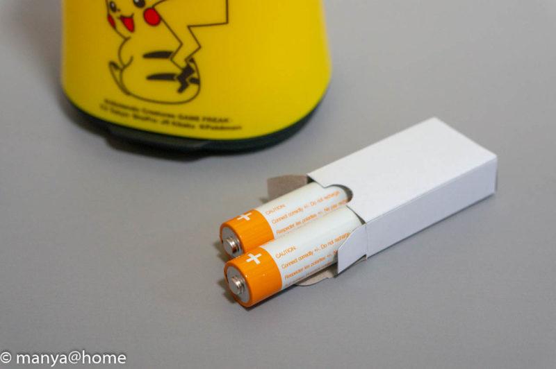 ミューズノータッチ 泡ハンドソープ ポケモンデザイン(ピカチュウデザイン)付属電池