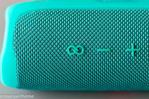 JBL FLIP5  JBL パーティブーストボタン