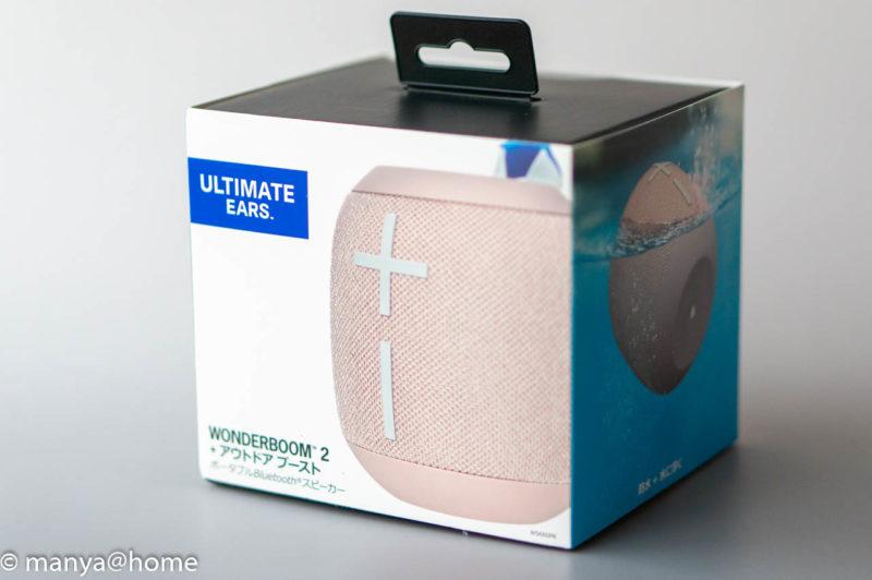 Ultimate Ears(アルティメット・イヤーズ) WONDERBOOM2 化粧箱