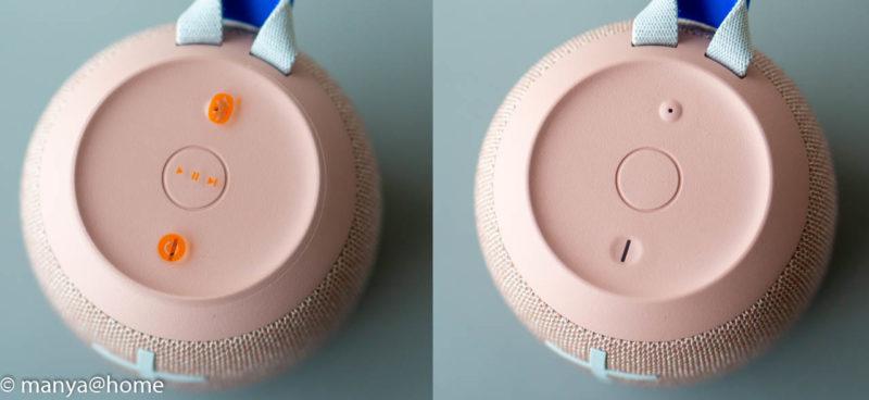 Ultimate Ears(アルティメット・イヤーズ) WONDERBOOM2 本体上面操作説明シール