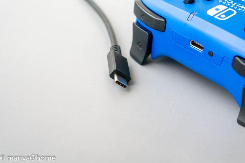 ワイヤレスホリパッド for Nintendo Switch ブルー USB-C接続