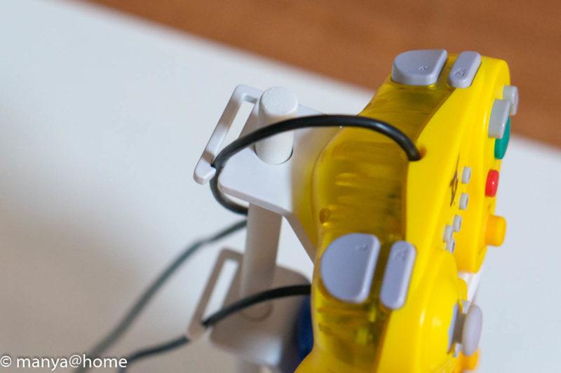 山崎実業 ゲームコントローラー収納ラック【スマート/smart】ホリクラコン コードクリップ