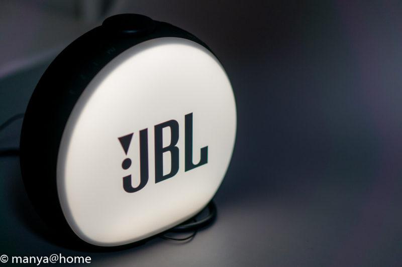 JBL HORIZON2 背面点灯状態