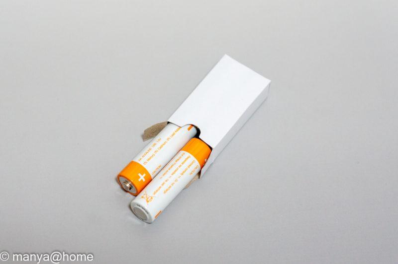 お買いものパンダ ミューズノータッチ本体付属 テスト用電池