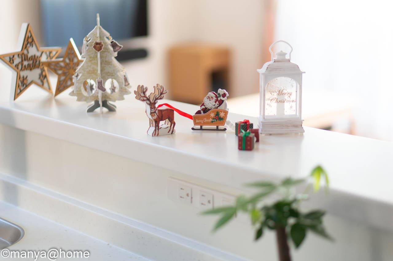 【3COINS CHRISTMAS】カウンター設置