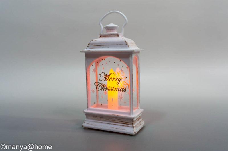 【3COINS CHRISTMAS】LEDランタン
