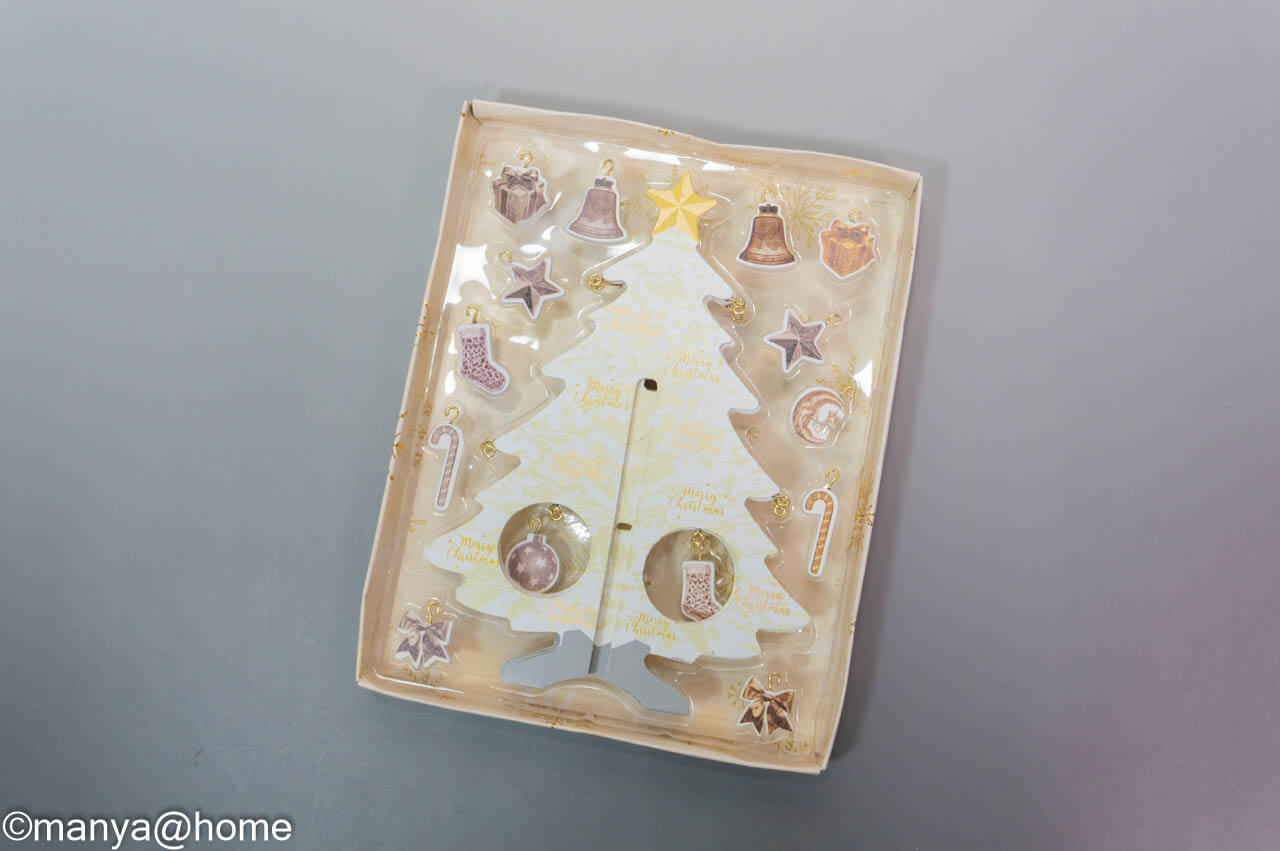 【3COINS CHRISTMAS】MDFツリーパッケージ