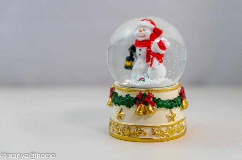 【3COINS CHRISTMAS】スノードーム