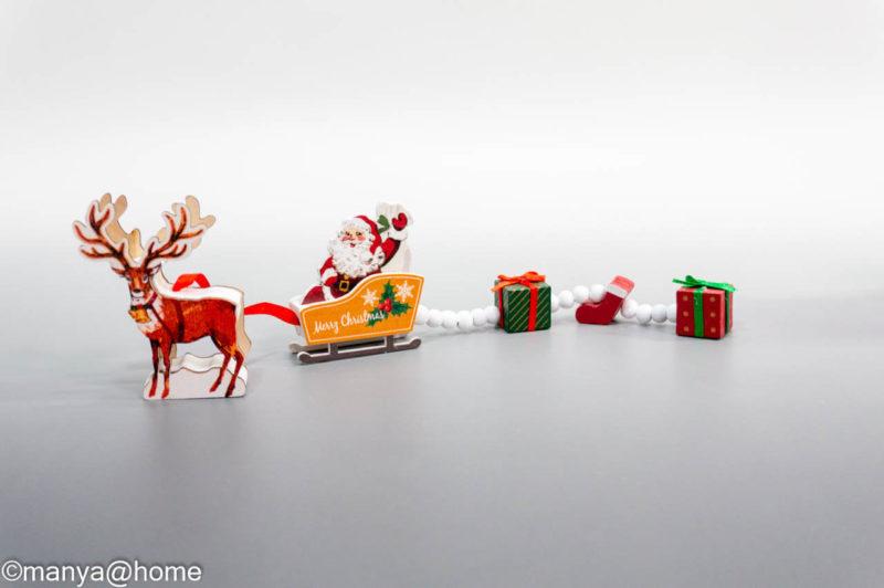 【3COINS CHRISTMAS】MDFトレイン