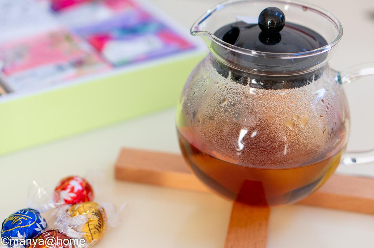 台湾茶とチョコ