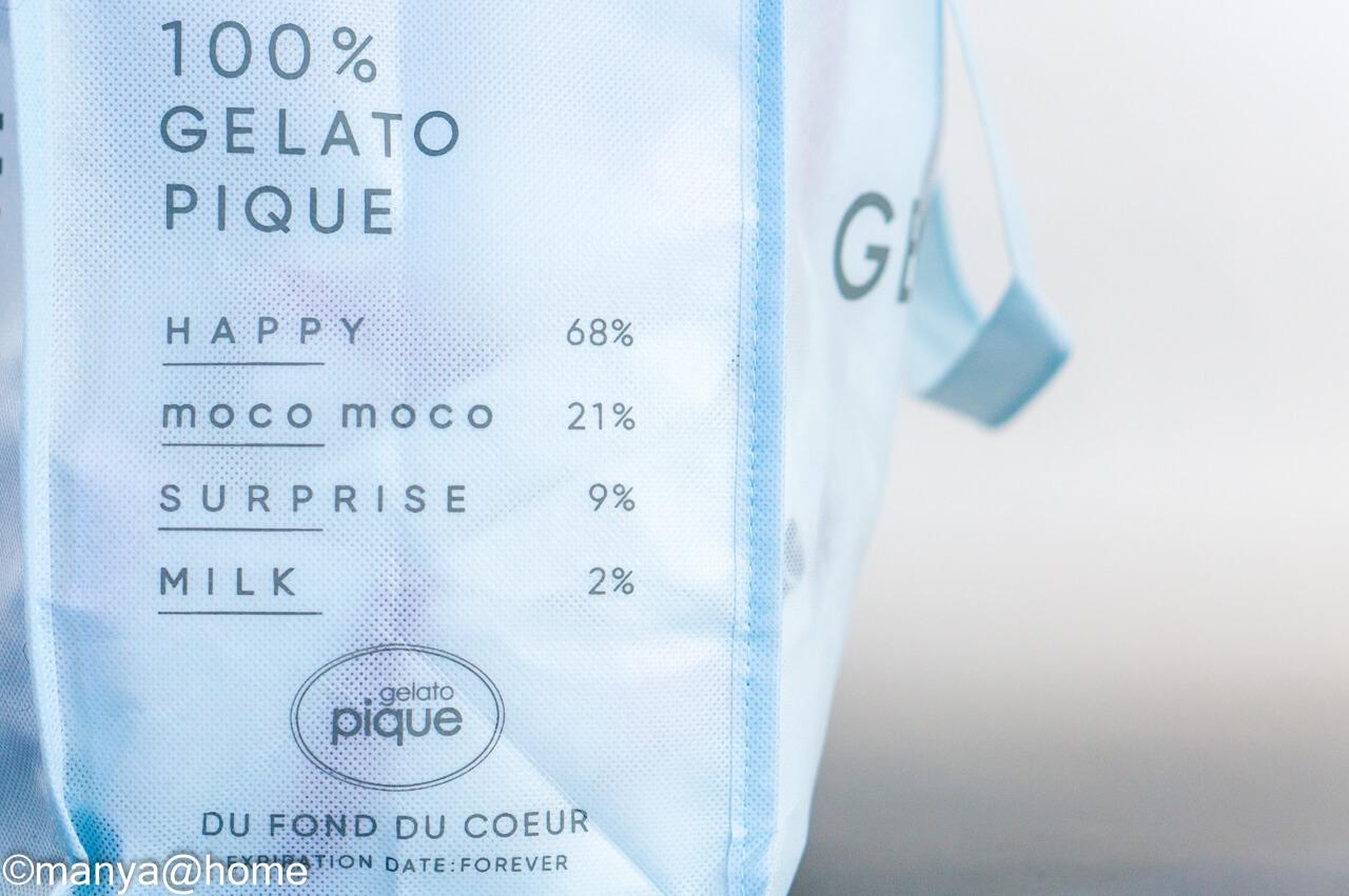 gelato pique ジェラピケ 2021年福袋 サイド