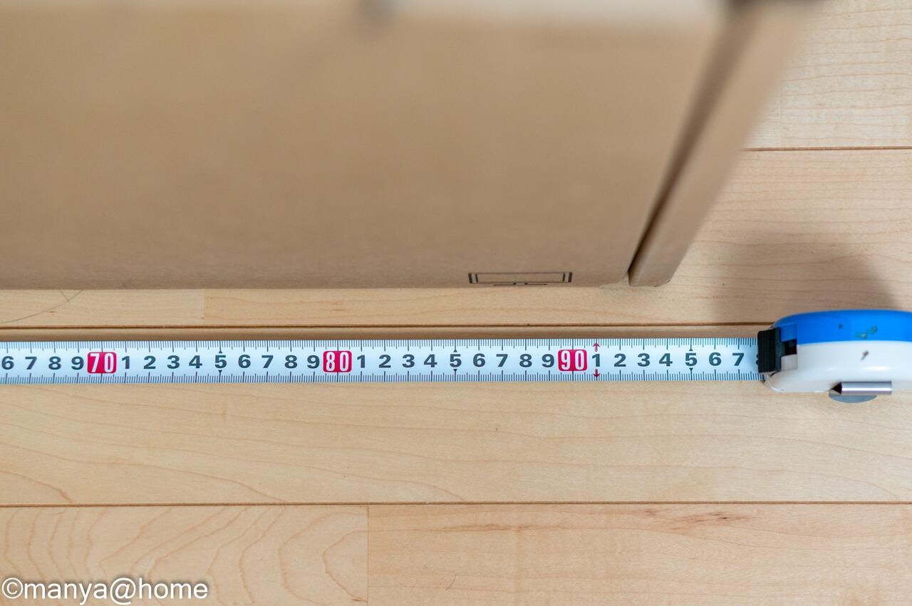 DELL P3421W ウルトラワイドモニター 外箱サイズ