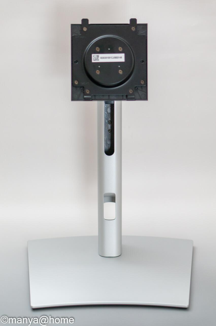 DELL P3421W ウルトラワイドモニター スタンド正面