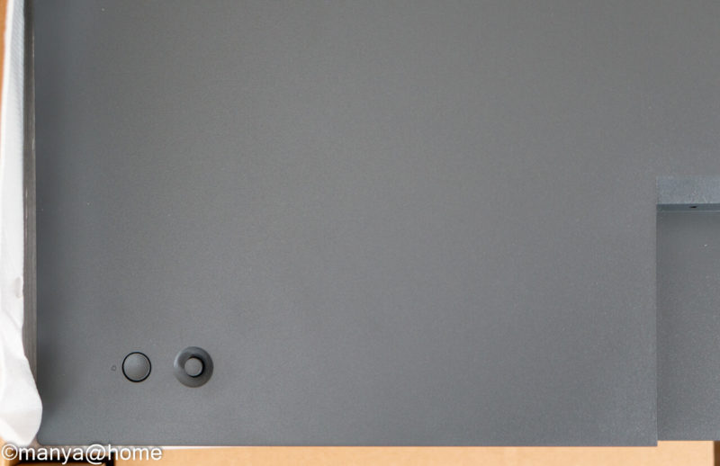 DELL P3421W ウルトラワイドモニター 電源ボタン、ジョイスティック