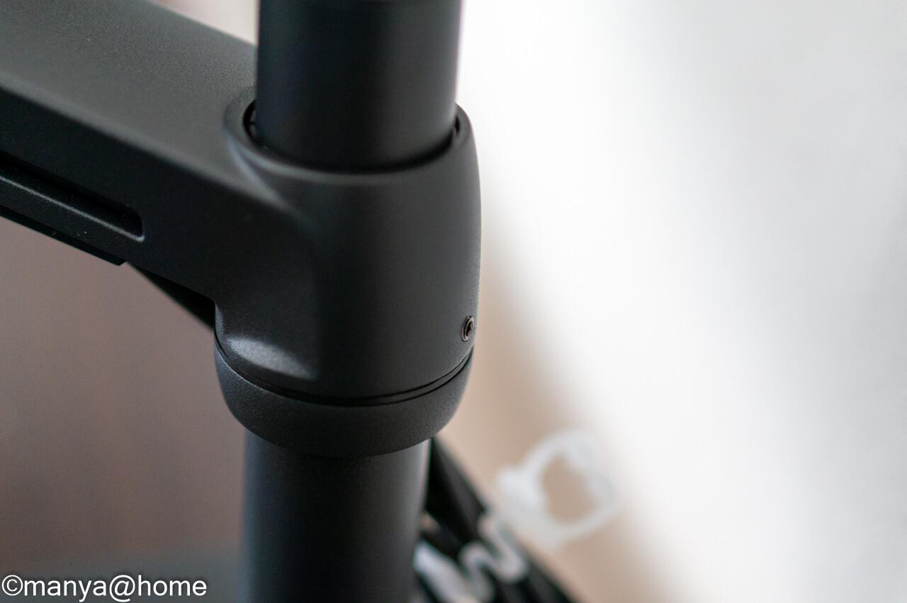 エルゴトロン LX デスクマウント 前腕部前後可動調整