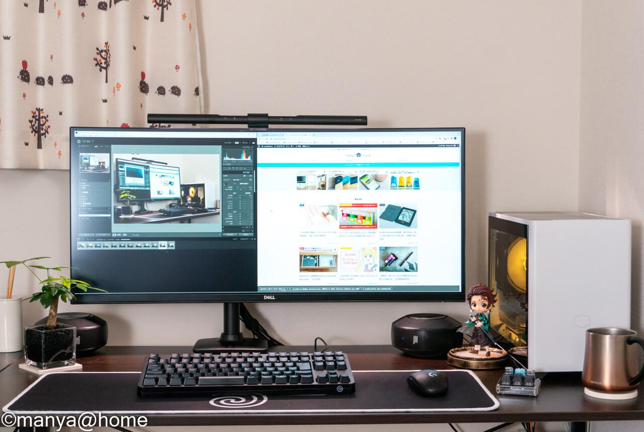 ウルトラワイドモニターDELL P3421Wレビュー アイキャッチ画像