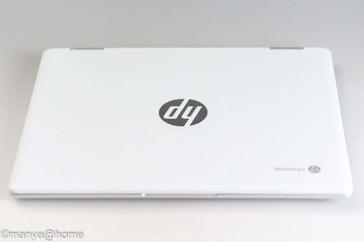 HP Chromebook x360 12b 天板