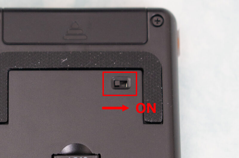 XP-Pen AC19 shortcut remote 電源スイッチ