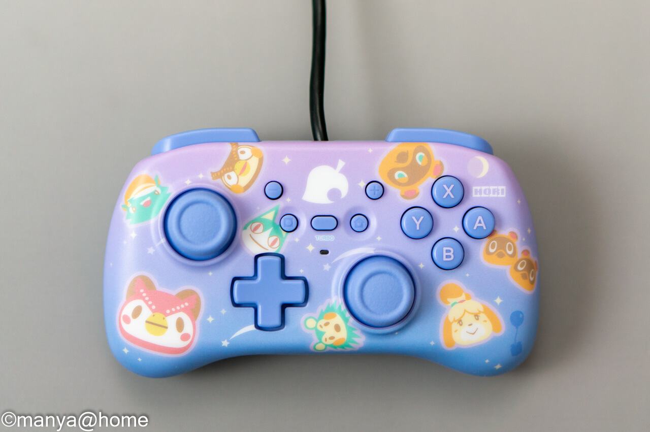 どうぶつの森 ホリパッドミニ for Nintendo Switch 表面