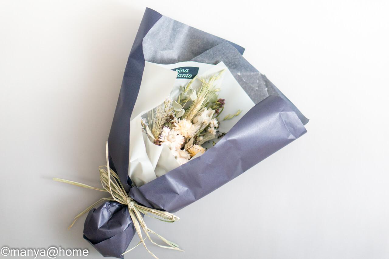 蓼科プランツ ドライフラワーの花束 ひすい