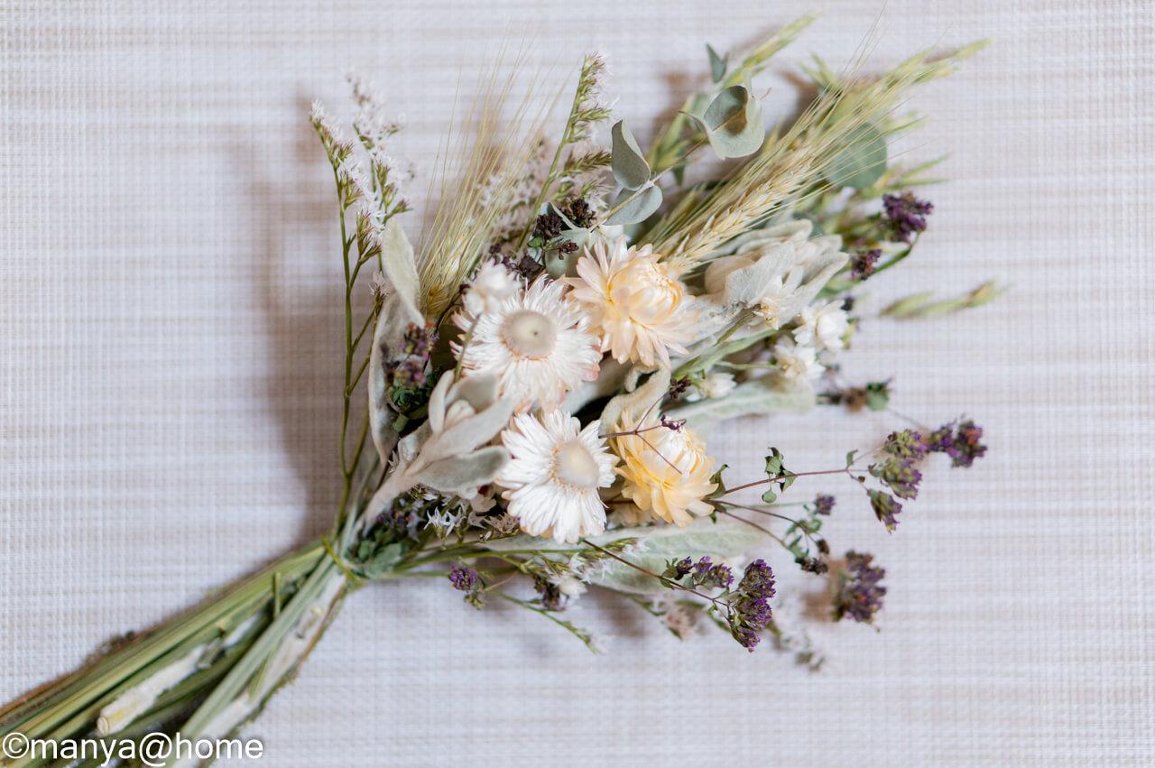 蓼科プランツ ドライフラワーの花束 ひすい 包み紙なし