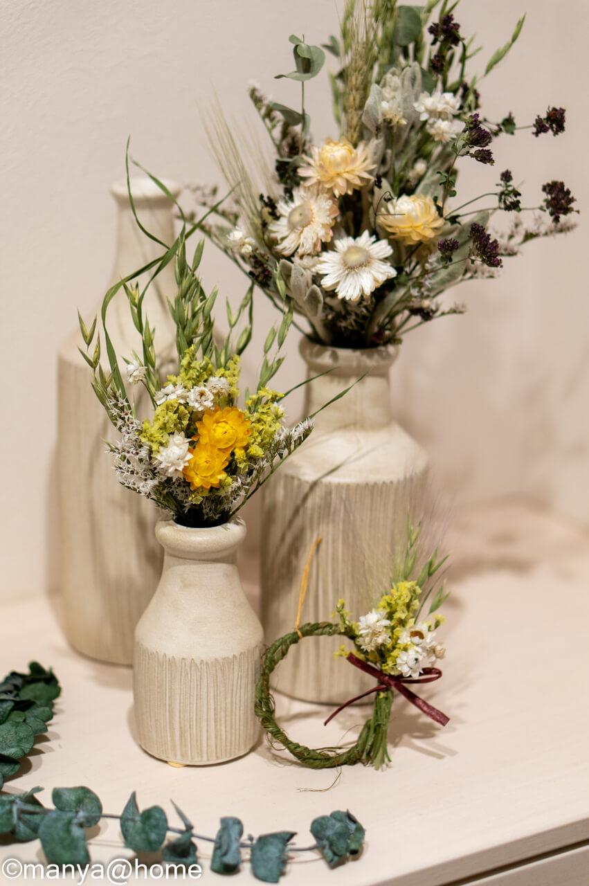蓼科プランツ ドライフラワーの花束
